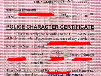 police character certificate status – Carpa Education Official Website