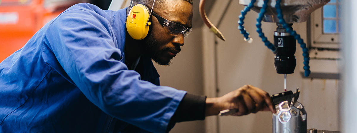 Manufacturing Engineering with a Foundation Year – BEng (Hons)