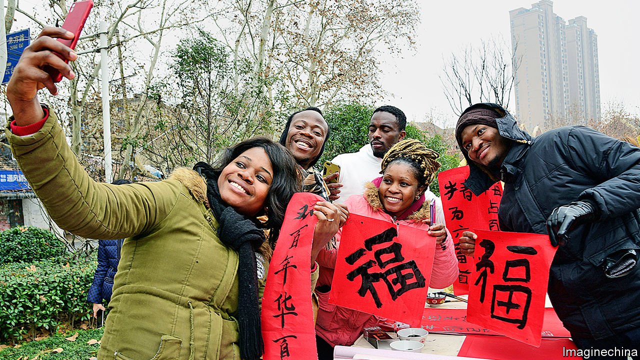 African students are choosing to study in China over the US.