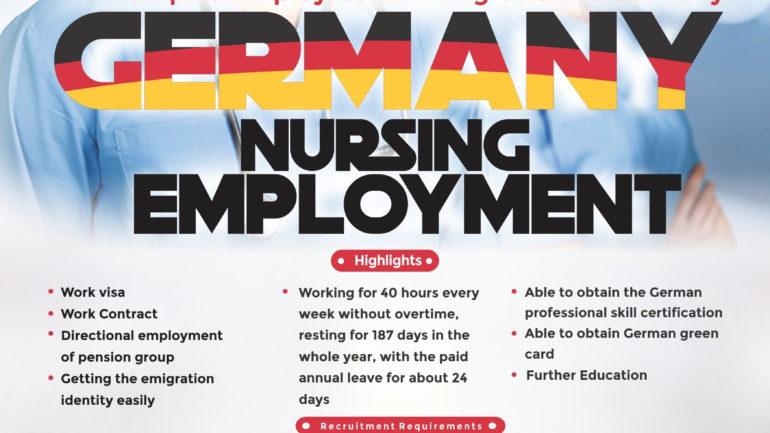 Work in Germany for Nigerian Nurses